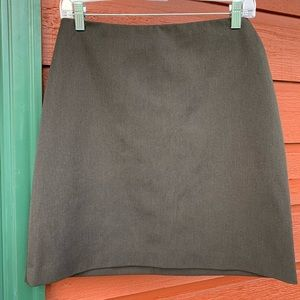 CACHE Brown skirt size 6